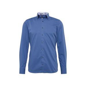 OLYMP Košile 'Level 5 City Uni'  modrá