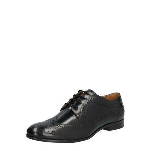 Hudson London Sportovní šněrovací boty 'CROWTHORNE HI'  černá