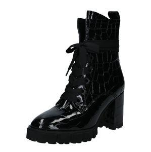 Kennel & Schmenger Šněrovací boty 'Indra'  černá