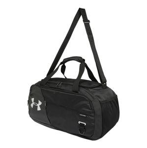UNDER ARMOUR Sportovní taška 'Undeniable Duffel 4.0 SM'  bílá / antracitová / černá