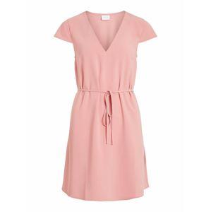VILA Letní šaty 'Keller'  růžová