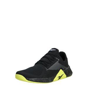 REEBOK Sportovní boty 'FLASHFILM TRAIN'  svítivě žlutá / černá