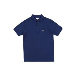 LACOSTE Tričko  tmavě modrá