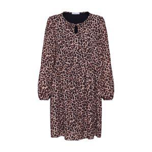 Hailys Košilové šaty ' Rita'  béžová / černá