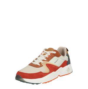 GANT Tenisky  mix barev / oranžově červená / béžová