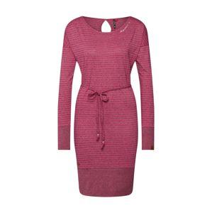 Ragwear Šaty 'SOHAM'  pink / vínově červená