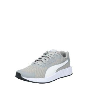 PUMA Běžecká obuv 'Taper'  šedá / bílá