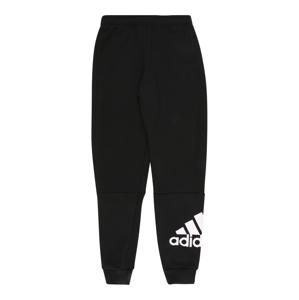 ADIDAS PERFORMANCE Sportovní kalhoty  bílá / černá