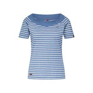 Ragwear Tričko 'SEINA'  nebeská modř / bílá