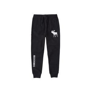 Abercrombie & Fitch Kalhoty  černá