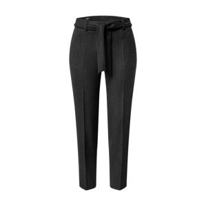 s.Oliver BLACK LABEL Kalhoty s puky  tmavě šedá