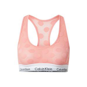 Calvin Klein Underwear Podprsenka 'Unlined'  růžová / bílá / černá