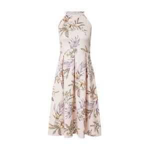 ABOUT YOU Šaty 'Jeromina'  růžová / žlutá / fialová