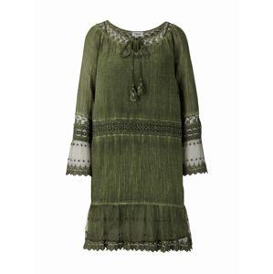 heine Letní šaty  olivová