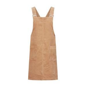 NEW LOOK Laclová sukně 'CORD BUCKLE POCKET PINNY'  velbloudí
