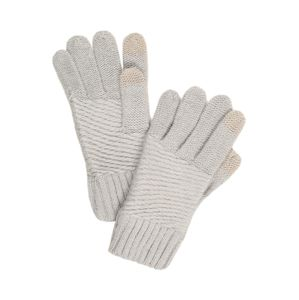 Chillouts Prstové rukavice 'Sibylle'  šedá