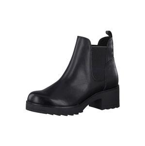 MARCO TOZZI Chelsea boty  černá