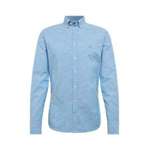 BOSS Společenská košile 'Mabsoot'  modrá