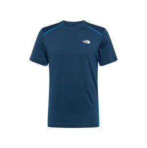 THE NORTH FACE Funkční tričko  modrá / světlemodrá / bílá