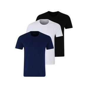 BOSS Tílko 'T-Shirt RN 3P'  modrá / černá / bílá