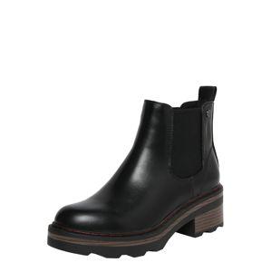 Xti Chelsea boty  černá