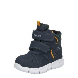 GEOX Sněhule 'Flexyper'  námořnická modř / zlatě žlutá / světle šedá / černá