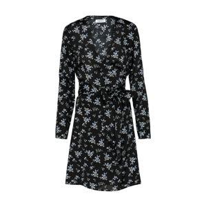 EDITED Šaty 'Stina'  modrá / černá
