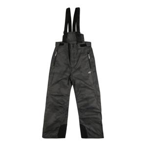 4F Outodoor kalhoty  černá / šedá