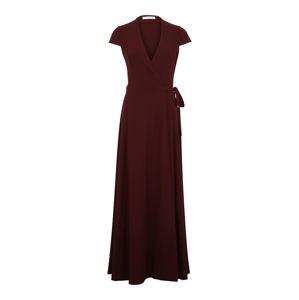 IVY & OAK Společenské šaty 'Wrap Evening Dress'  merlot