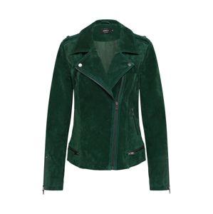 ONLY Přechodná bunda 'LUX SUEDE'  zelená