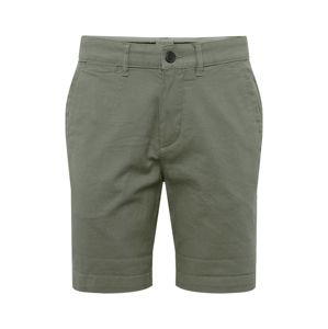 SELECTED HOMME Chino kalhoty 'SLHSTRAIGHT-CHRIS SHORTS W CAMP'  zelená
