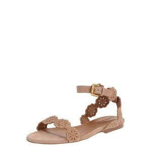See by Chloé Páskové sandály  pudrová