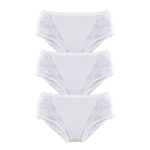 PETITE FLEUR Stahovací prádlo  bílá