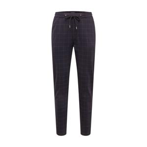 SHINE ORIGINAL Chino kalhoty  černá / bílá