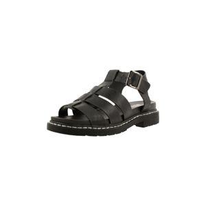 BULLBOXER Páskové sandály  černá