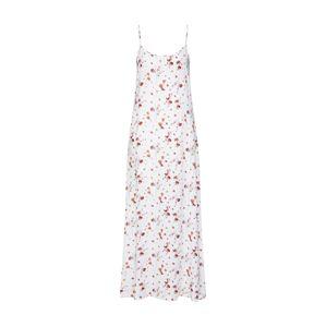 NA-KD Letní šaty  červená / bílá