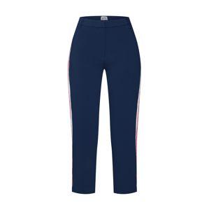 Tommy Jeans Chino kalhoty  námořnická modř / červená / bílá