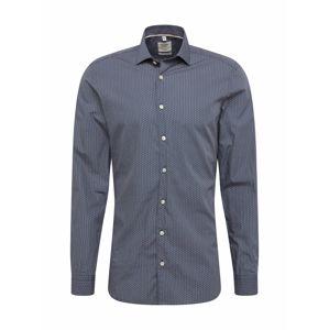 OLYMP Společenská košile 'Level 5'  marine modrá