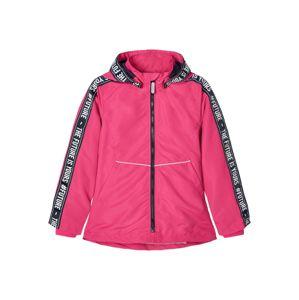 NAME IT Přechodná bunda  pink / černá / bílá