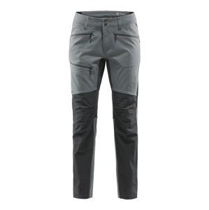 Haglöfs Sportovní kalhoty 'Rugged'  šedá / černá
