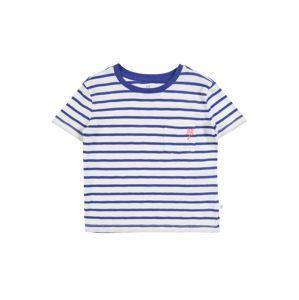 GAP Tričko  bílá / modrá