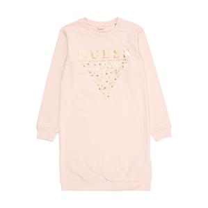 GUESS KIDS Šaty  pudrová / zlatá