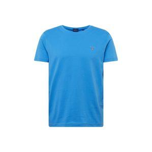 GANT Tričko  královská modrá