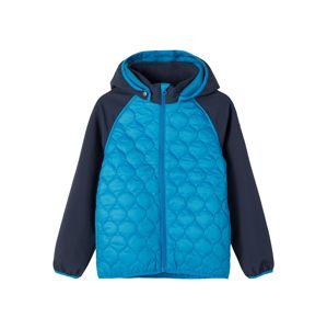 NAME IT Přechodná bunda 'Mana'  tmavě modrá / nebeská modř
