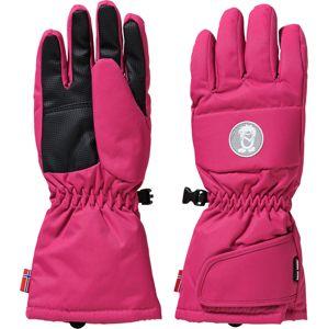 TROLLKIDS Sportovní rukavice 'Narvik'  pink / černá