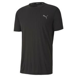 PUMA Tričko  černá