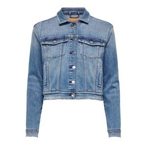ONLY Přechodná bunda  modrá džínovina