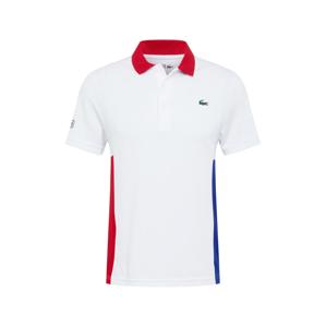 Lacoste Sport Funkční tričko  modrá / bílá / červená