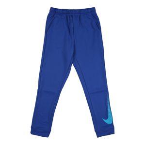 NIKE Sportovní kalhoty  modrá / aqua modrá