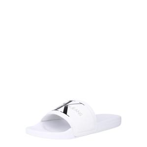 Calvin Klein Plážová/koupací obuv  bílá / černá